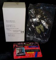Space Precinct: Cyborg Mail-Away Promo - Action Figure - Sealed in Bag with Box